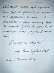 prof. Irena Sijałowa-Vogel 2/2