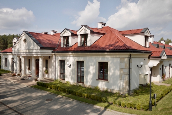 Dom Muzyka Seniora - widok od strony wjazdu.