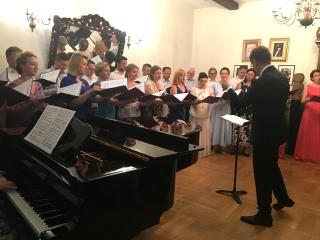 Koncert Chóru Filharmonii Narodowej.