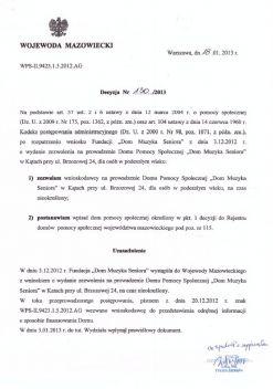 Decyzja Wojewody storna 1.