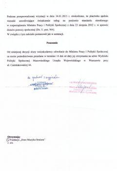 Decyzja Wojewody strona 2.