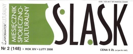 Logo miesięcznika Śląsk.