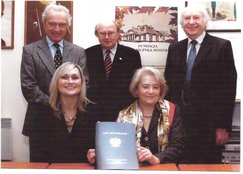 Podpisanie Aktu Notarialnego darowizny.
