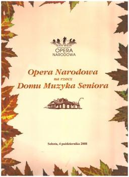 Opera Narodowa dla DMS.