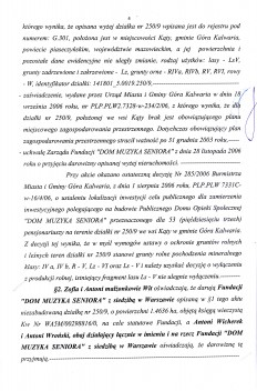 Akt Notarialny darowizny.