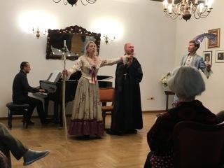 "Opera W. A. Mozarta ""Bastien i Bastienne""."