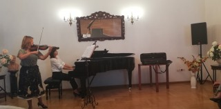 Koncert duetu Joanna Okoń i Katarzyna Glensk.