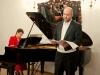 Artyści: Jarosław Bręk (baryton) i Anna Wilczyńska (fortepian)